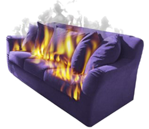 Sofa-Fire