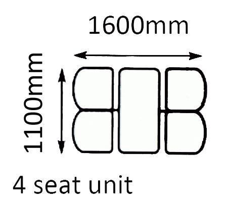 4 seat