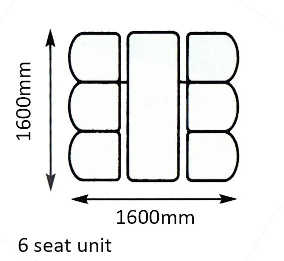 6 seat