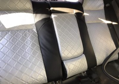 Limo re-upholstery